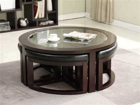 Coffee Table With Stools Underneath by Coffee Table Great Coffee Table With Stools For Glamorous