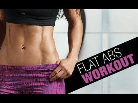 flat abs exercises flatten the abs in 24 mins flat