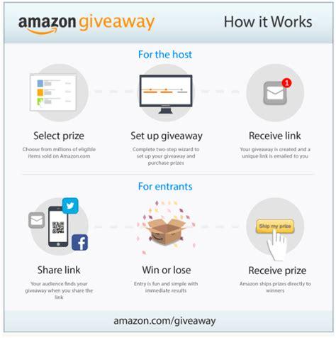 Amazon Giveaway Uk - amazon launches giveaway tool tamebay