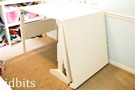 Folding Craft Table With Storage Diy Folding Craft Sewing All Purpose Table Crafty Bits Purpose