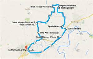 oregon wine tasting map pinot heartland of america oregon s willamette valley