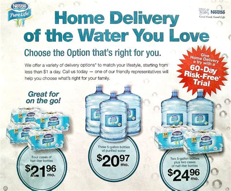 nestle waters delivery