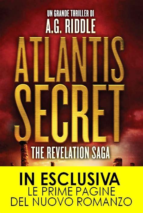 The Atlantis Revelation A Thriller atlantis secret newton compton editori