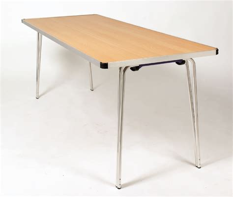 Folding Chairs And Table by Gopak Contour Folding Table