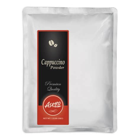 Powder Cappucino cappuccino powder asetto enterprise ltd 亞仕得企業 asia
