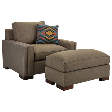 1 1 2 chair and ottoman broyhill furniture chair 1 2 and ottoman with
