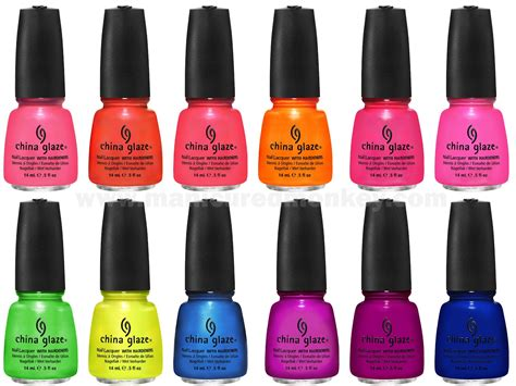 China Glaze Nail by China Glaze S Hues Summer Neons Nail Lacquer