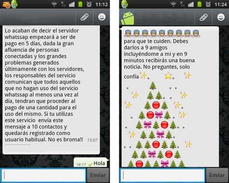 cadenas sms graciosas whatsapp vuelven los bulos sobre coste de esta aplicaci 243 n