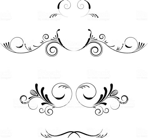Decoration De Page by Vector Decorative Elements Borders And Page Decoration