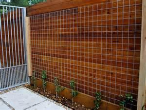 Wire Trellis Panels East Garden For A Lovely Montrose Bungalow Ravenscourt