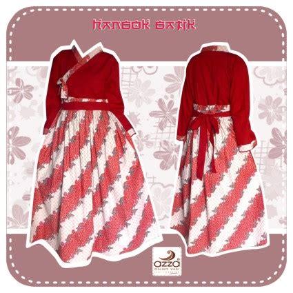 Iu Batik 3 gamis abaya manis hanbok merah