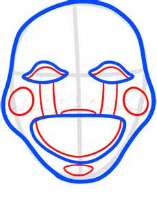How to draw the puppet easy step by step video game characters pop
