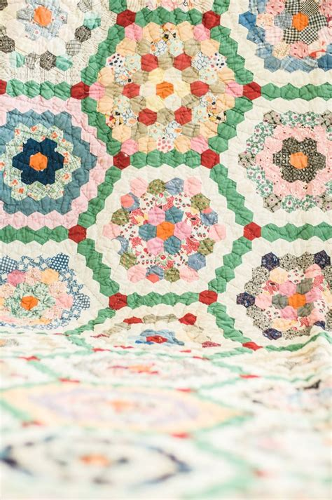 464 Best Images About Quilts Grandmother S Flower Garden Grandmother Flower Garden Quilt Pattern