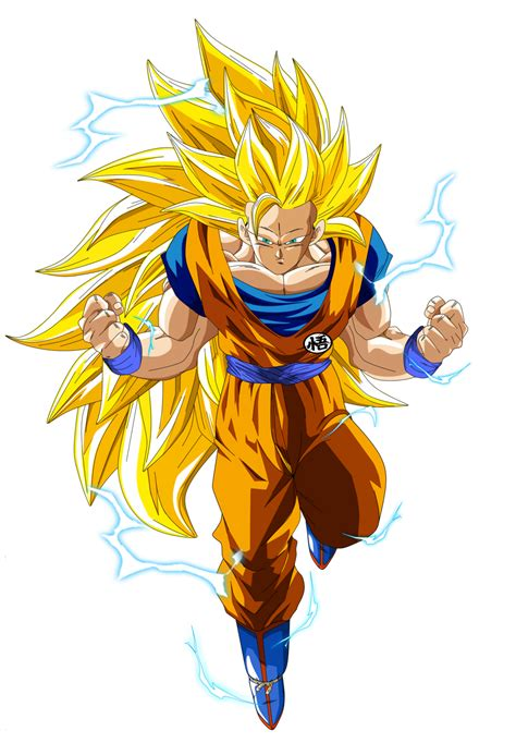 imagenes de goku golden goku ssj3 by naironkr on deviantart