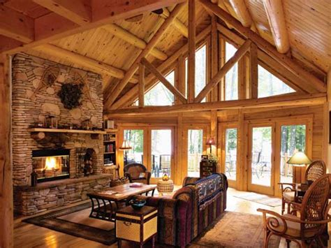 log cabin interior design living room small cabin interior