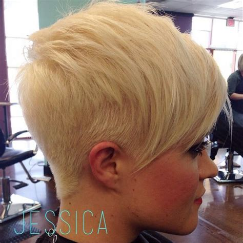 hairstyles bleach blonde hair 99 best pixies images on pinterest
