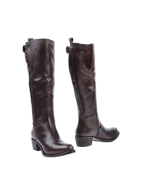 Inspired Boots By Miss Sixty by Miss Sixty Boots In Brown Cocoa Lyst