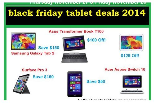 black friday tab deals