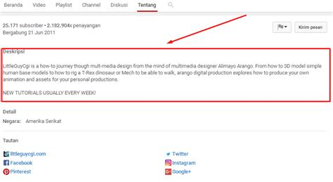 cara membuat link channel youtube cara membuat channel youtube luar negeri target negara