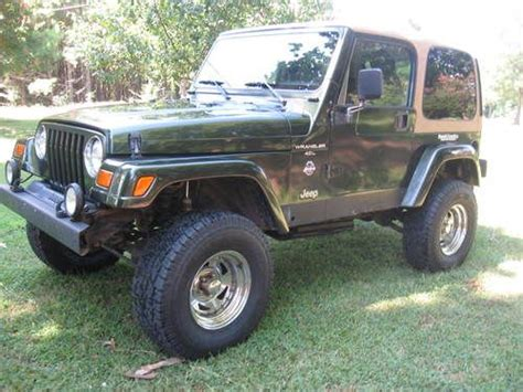 how to work on cars 1998 jeep wrangler on board diagnostic system find used 1998 jeep wrangler sahara sport utility 2 door 4 0l 5 speed hard top doors in