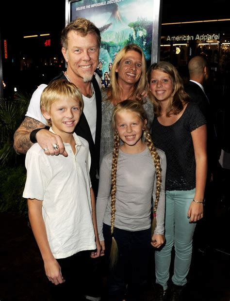james hetfield in the red carpet at the journey 2