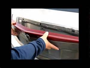 2003 Cadillac Cts Third Brake Light How To Remove 3rd Brake Light From 2003 To 2006 Cadillac