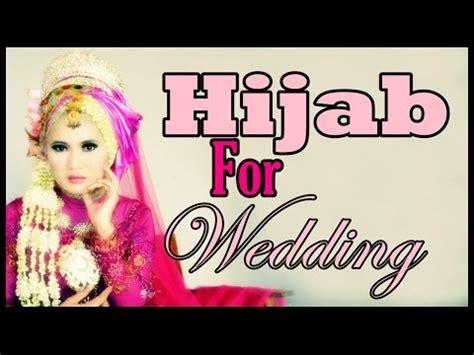 tutorial hijab pengantin pashmina diy hijab paris pengantin tutorial pesta wisuda dan