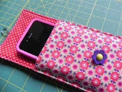 how to make a mobile cover with cloth how to make phone pouch step by step mobile pouch tutorial cell phone pouch sewing