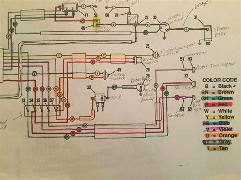 terminal block wiring diagram harley flh 28 images