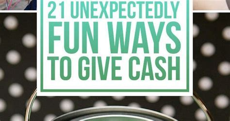 21 Surprisingly Fun Ways To Give Cash As A Gift   Wedding