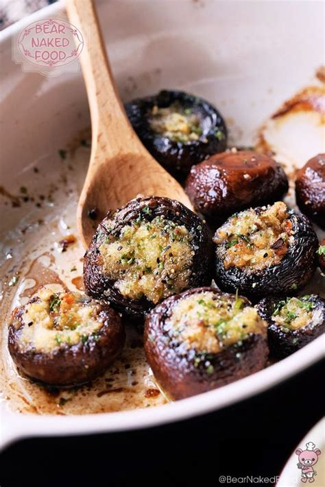 great starters for a dinner easy roasted garlic butter mushrooms recipe protein