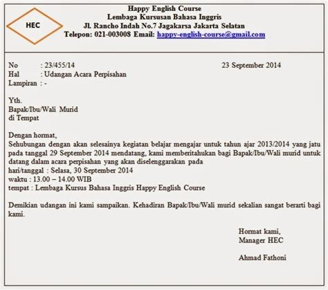 Format Surat Lamaran Tangan Yg Ditujukan Untuk Kejaksaan Agung by Contoh Surat Resmi Beserta Bagian Bagian Surat Jelaskan