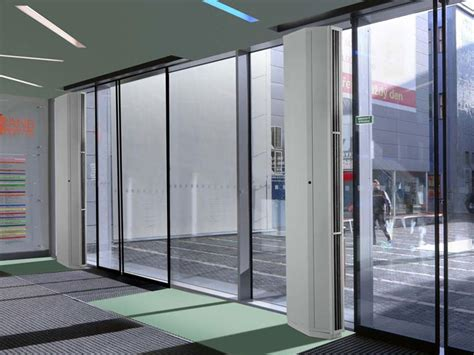 air door curtain new quiet vertical air curtain