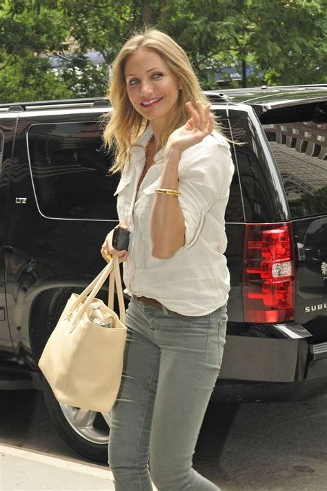 Cameron Diazs Fendi To You Purse by Polished Purse Cameron Diaz Totes Chanel
