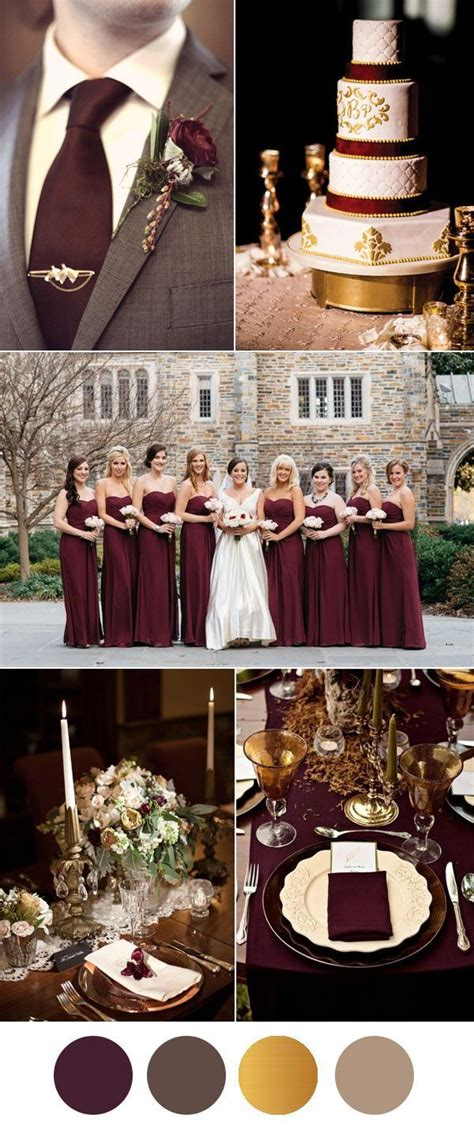 burgundy and gold decorations 25 best ideas about burgundy wedding colors on