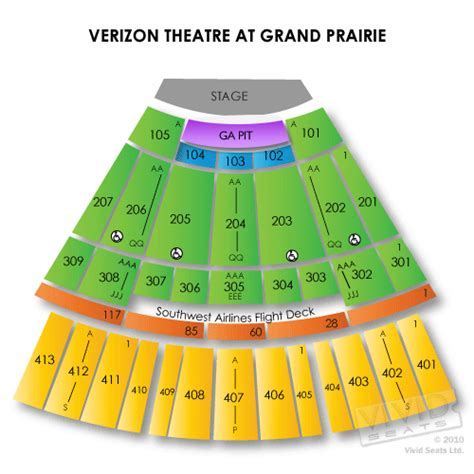 fifehiyq nokia theater grand prairie seating chart
