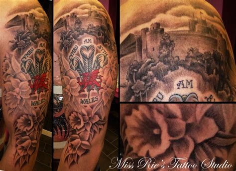 welsh tattoos tattoos inspired sleeve by onksy on