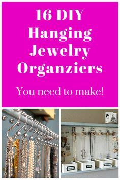 what do you need to make jewelry hanging jewelry organizer on hanging jewelry