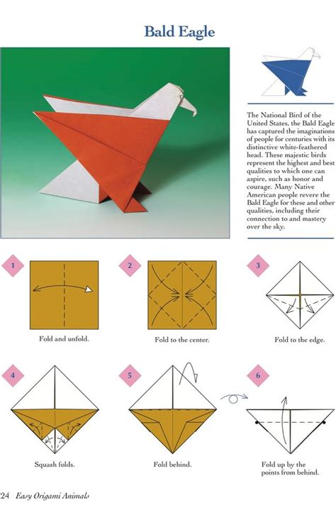 origami bald eagle 72 best images about eagle crafts activities for on