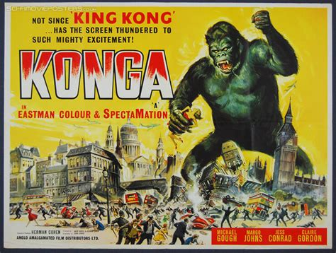 film giant monster konga is a 1961 british movie about a mad scientist and