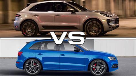 Porsche Macan S Vs Audi Sq5 porsche macan turbo vs audi sq5