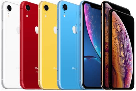 iphone xr vs iphone xs and iphone xs max spec showdown