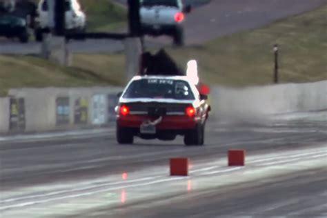 2000 hp mustang 2 000 hp fox car hits 190 mph in quarter