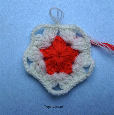 christmas craft ideas crochet star ornament craft ideas