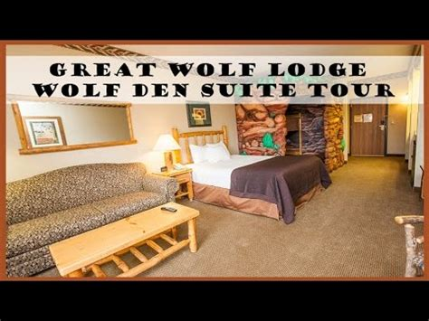 great wolf lodge mason ohio bed bugs bg travel great wolf lodge wolf den suite room tour youtube