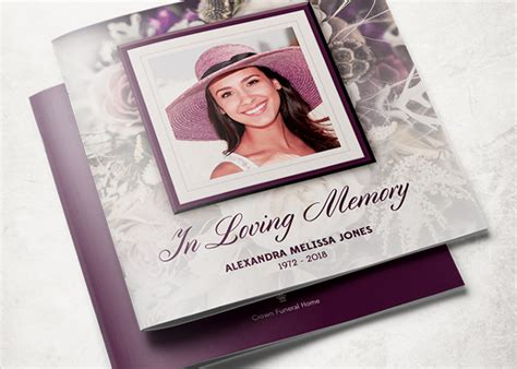 memorial card template photoshop free 12 funeral service brochure templates free psd ai eps