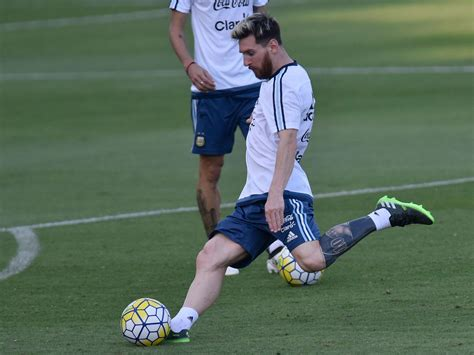 messi tattoo lionel messi shows new during argentina