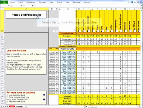 employee performance scorecard template excel 5 employee performance scorecard template excel