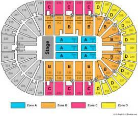 map us bank arena us bank arena seating chart