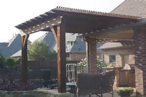 Pergola Dallas by Arbor Projects Pergola Projects Traditional Patio